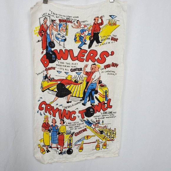 Bowlers Crying Towel